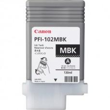 Картридж Canon PFI-102MBK (matte black) 130мл