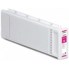 Картридж Epson C13T694300 / T6943 Singlepack UltraChrome XD для EPSON SureColor для SC-T3000/T5000/T7000/3200/5200/7200 (magenta) 700мл