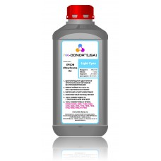Пигментные чернила UltraChrome K3 LС (light cyan) INK-DONOR 1000 мл